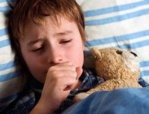 приступ кашля у ребенка