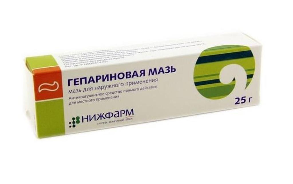 Гепариновая мазь применяется при ряде заболеваний
