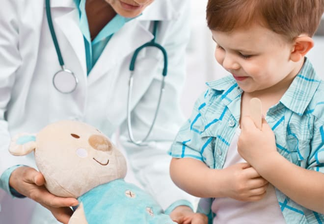 Как уменьшить размер Манту у ребенка