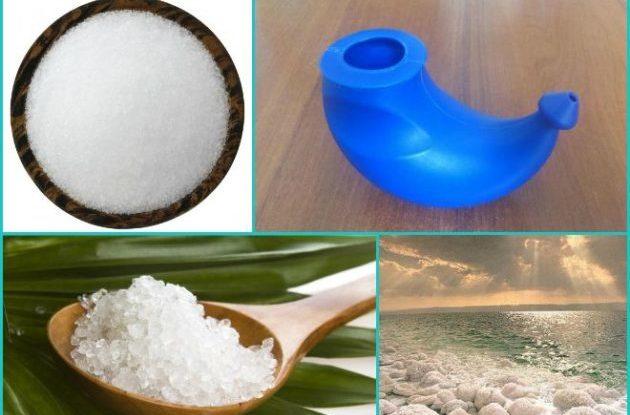 Раствор из морской соли