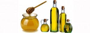 Оливковое масло и мед