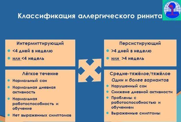 Классификация ринитов
