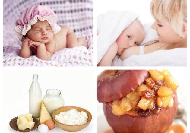 Аллергия у грудничков на продукты