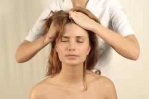 массаж-головы