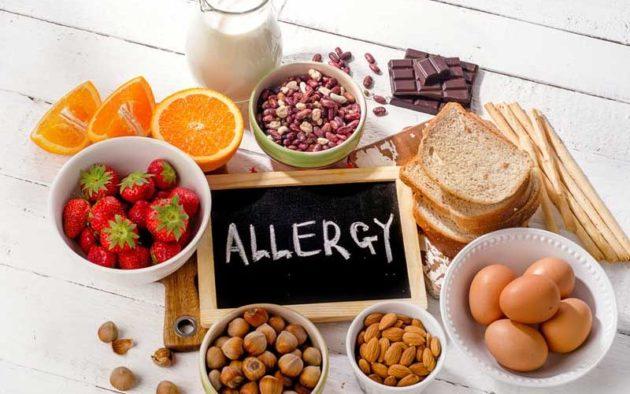 Высокоаллергенные продукты питания