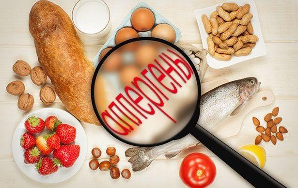 Аллергены в продуктах