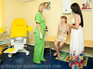 Визуальный осмотр детского гинеколога