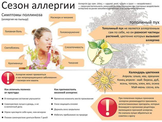 Диагноз поллиноз