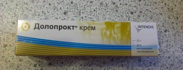 Долопрокт крем