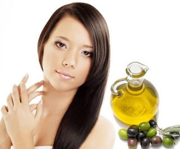 Волосы после оливкового масла