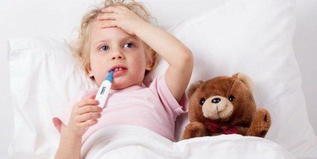 Повышенная температура во время болезней