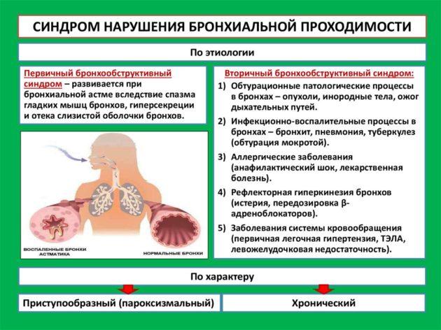 Развития бронхиальной астмы