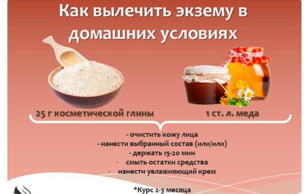 Домашний рецепт от экземы
