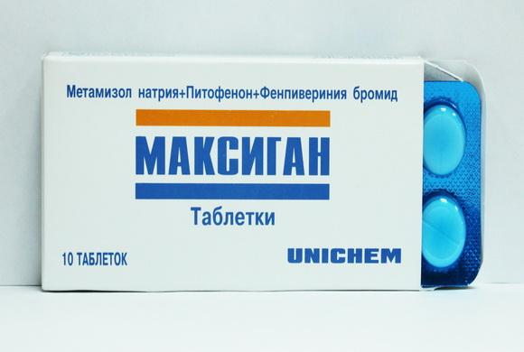 Таблетки Максиган обладают широким спектром действия