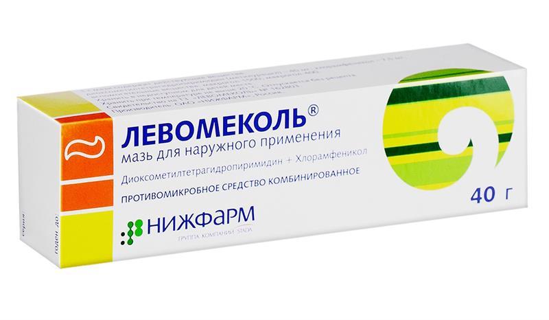 Левомеколь - это комбинированное средство для местного применения