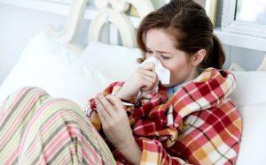 низкая температура простуда