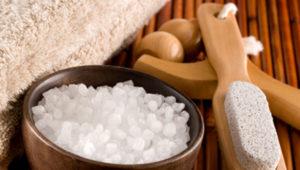 Обязательные ванночки с морской солью