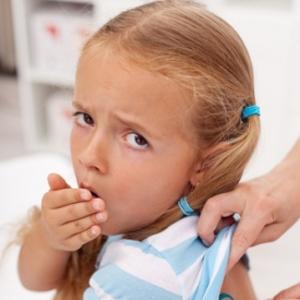 Профилактика сухого кашля у детей