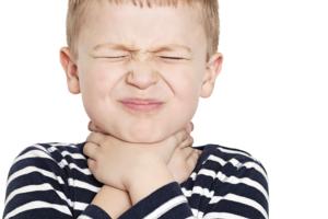 Горловой кашель