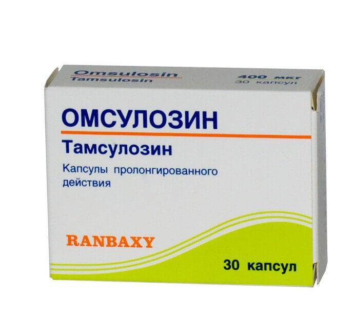 альфа блокатор омсульозин