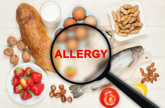 Аллерген в продуктах