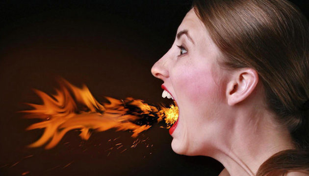 Жжение во рту